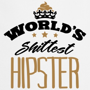 worlds shittest hipster - Cooking Apron