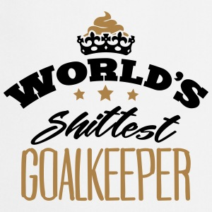 worlds shittest goalkeeper - Cooking Apron