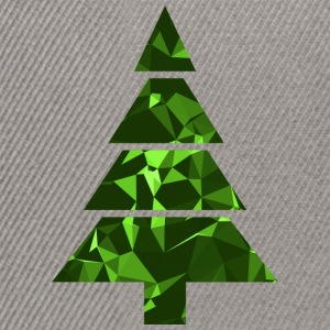 Christmas Tree (Low Poly) T-Shirts - Snapback Cap