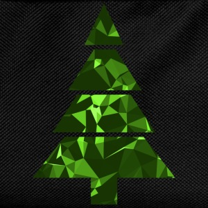 Christmas Tree (Low Poly) T-Shirts - Kids' Backpack