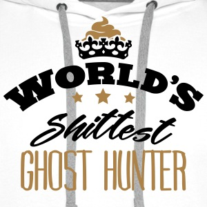 worlds shittest ghost hunter - Men's Premium Hoodie