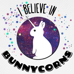 I believe in bunnycorns licorne lièvre lapin unico Sweat-shirts - Casquette classique