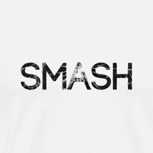 smash screen crack glass Long Sleeve Shirts - Men's Premium T-Shirt