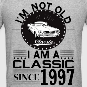 Classic since 1997 Hoodies & Sweatshirts - Men's Slim Fit T-Shirt