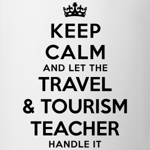 keep calm let travel tourism teacher han - Mug