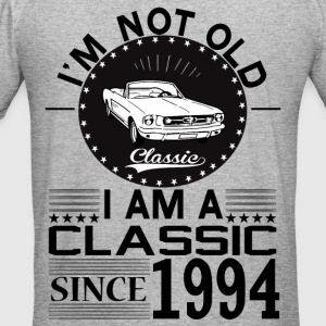 Classic since 1994 Hoodies & Sweatshirts - Men's Slim Fit T-Shirt
