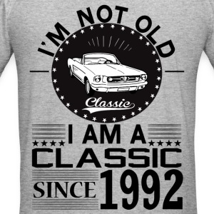 Classic since 1992 Hoodies & Sweatshirts - Men's Slim Fit T-Shirt