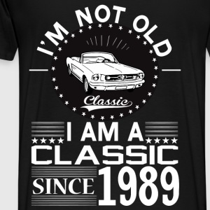 Classic since 1989 Hoodies & Sweatshirts - Men's Premium T-Shirt