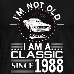 Classic since 1988 Hoodies & Sweatshirts - Men's Premium T-Shirt