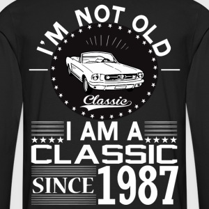 Classic since 1987 T-Shirts - Men's Premium Longsleeve Shirt