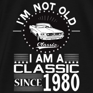 Classic since 1980 Hoodies & Sweatshirts - Men's Premium T-Shirt