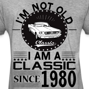 Classic since 1980 Hoodies & Sweatshirts - Men's Vintage T-Shirt