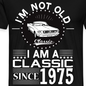 Classic since 1975 Hoodies & Sweatshirts - Men's Premium T-Shirt