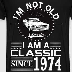 Classic since 1974 Hoodies & Sweatshirts - Men's Premium T-Shirt