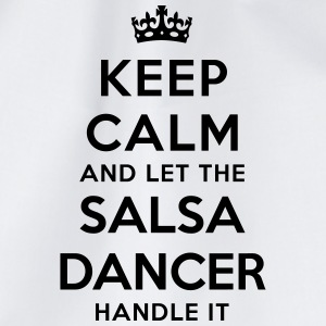 keep calm let salsa dancer handle it - Sac de sport léger