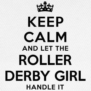 keep calm let roller derby girl handle i - Casquette classique