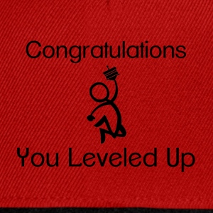 Gaming Level Up T-Shirts - Snapback Cap