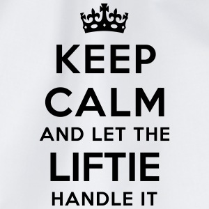 keep calm let liftie handle it - Sac de sport léger