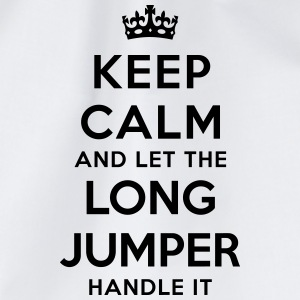 keep calm let long jumper handle it - Sac de sport léger