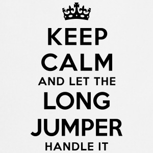 keep calm let long jumper handle it - Tablier de cuisine