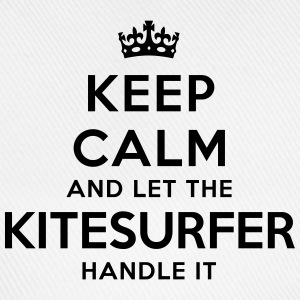 keep calm let kitesurfer handle it - Casquette classique