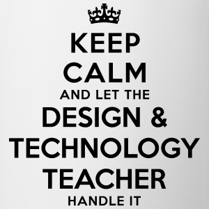 keep calm let the design  technology tea - Mug