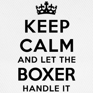keep calm let the boxer handle it - Casquette classique