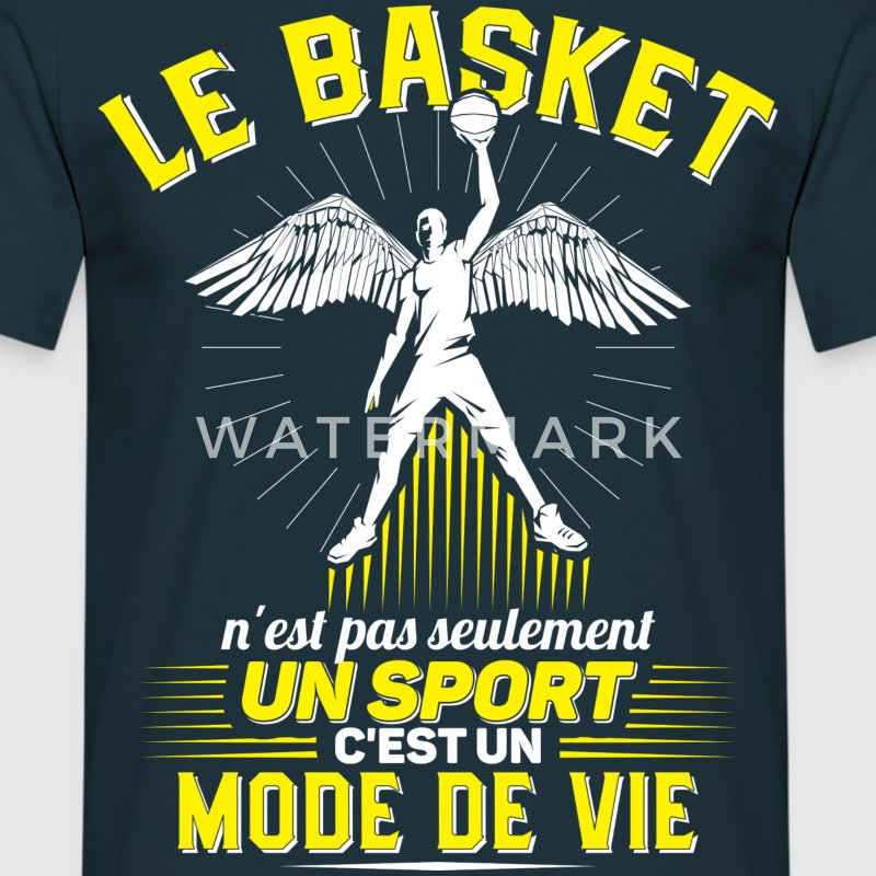 Basket - T-shirt Homme