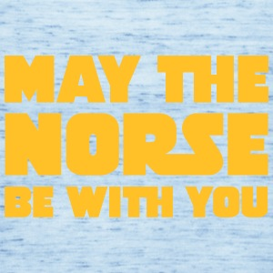 May The Norse Be With You T-shirts - Tanktopp dam från Bella