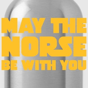 May The Norse Be With You T-shirts - Drikkeflaske