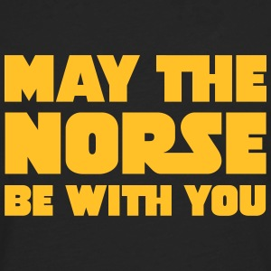 May The Norse Be With You T-skjorter - Premium langermet T-skjorte for menn