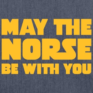 May The Norse Be With You T-shirts - Axelväska av återvinningsmaterial