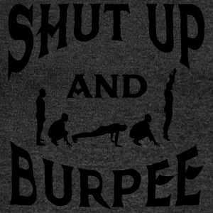 Shut Up And Burpee T-Shirts - Women's Boat Neck Long Sleeve Top