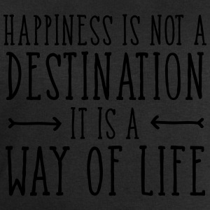 Happiness Is Not  A Destination... T-shirts - Sweatshirt herr från Stanley & Stella
