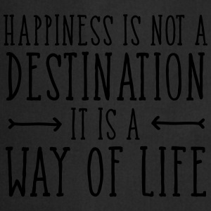 Happiness Is Not  A Destination... T-skjorter - Kokkeforkle