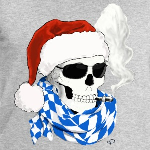 skull_XMAS Manches longues - Sweat-shirt Homme Stanley & Stella
