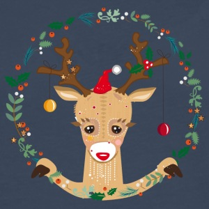 Cute reindeer T-Shirts - Men's Premium Longsleeve Shirt