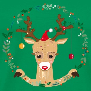 Cute reindeer Bags & Backpacks - Men's Premium T-Shirt