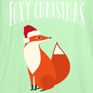 Foxy Christmas T-Shirts - Women's Tank Top by Bella