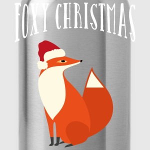 Foxy Christmas T-Shirts - Water Bottle