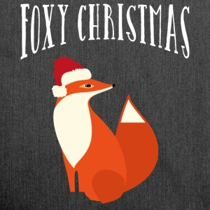 Foxy Christmas T-Shirts - Shoulder Bag made from recycled material