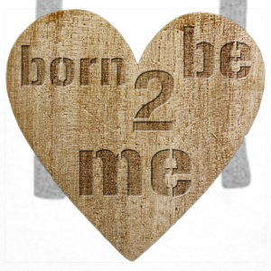 Love - born to be me Kopper & tilbehør - Premium hettegenser for menn