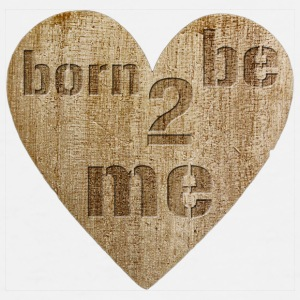 Love - born to be me Kopper & tilbehør - Premium T-skjorte for menn