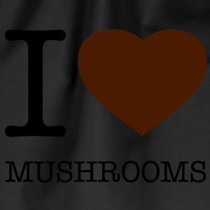 I LOVE MUSHROOMS - Turnbeutel