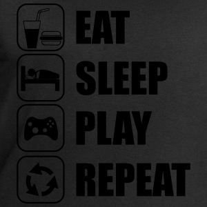 Eat,sleep,play,repeat Gamer Gaming - Herresweatshirt fra Stanley og Stella