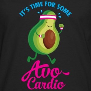 It\'s Time For Some Avo Cardio T-skjorter - Premium langermet T-skjorte for menn