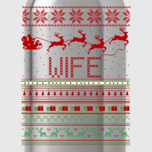 Wife Ugly Christmas Sweater T-Shirts - Water Bottle