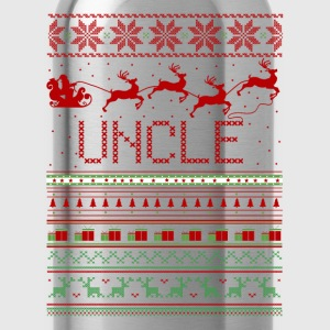 Uncle Ugly Christmas Sweater T-Shirts - Water Bottle