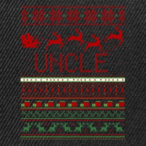 Uncle Ugly Christmas Sweater T-Shirts - Snapback Cap