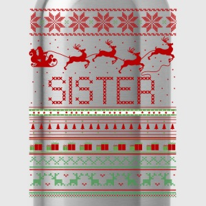 Sister Ugly Christmas Sweater T-Shirts - Water Bottle